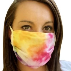 NEW! Cotton Tie Dye Adult Facemask